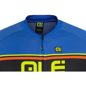 Alé Cycling Solid Vetta Shortsleeve Jersey Herren blue-fluo yellow